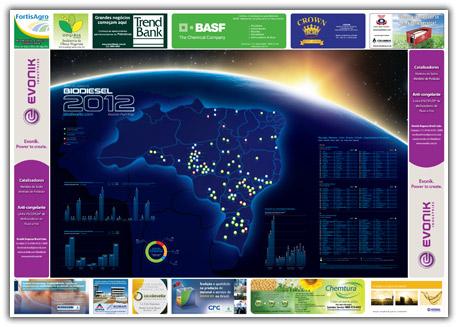 Mapa das Usinas de Biodiesel 2012-0